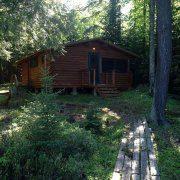 Bear Cabin Rustic Rental Michigan