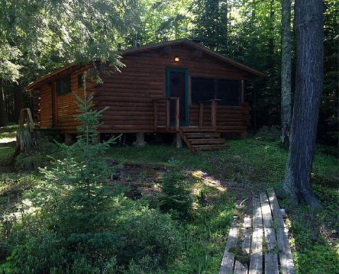 Bear Lake Cabin at The Wilderness Reserve