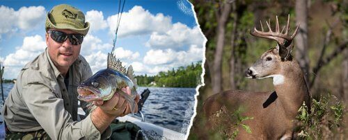 Fish & hunt combo hunting package
