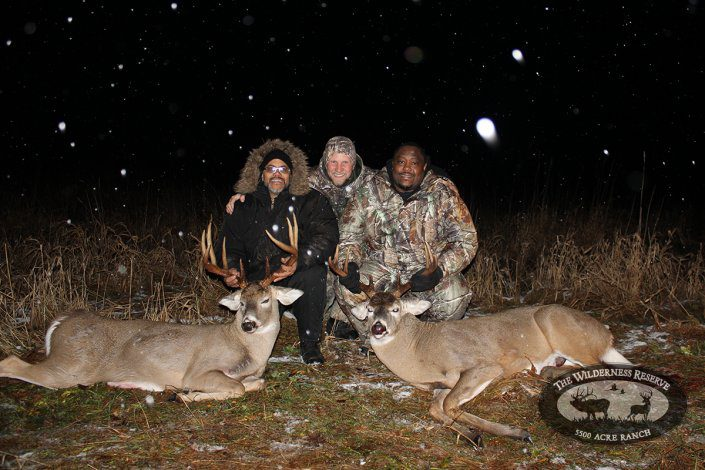 Guided Whitetail Deer Hunting Double Down
