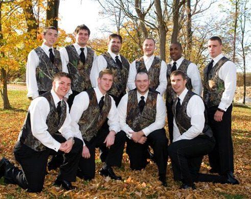 Hunting Themed Wedding Venue Wisconsin
