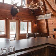 Rustic Lodge Bar at The Wilderness Reserve