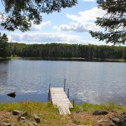 View of Wolf Lake from Wolf Cabin