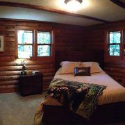 Whitetail Cabin Bedroom