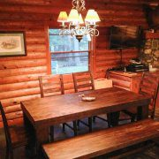 Whitetail Cabin Dining Room Table