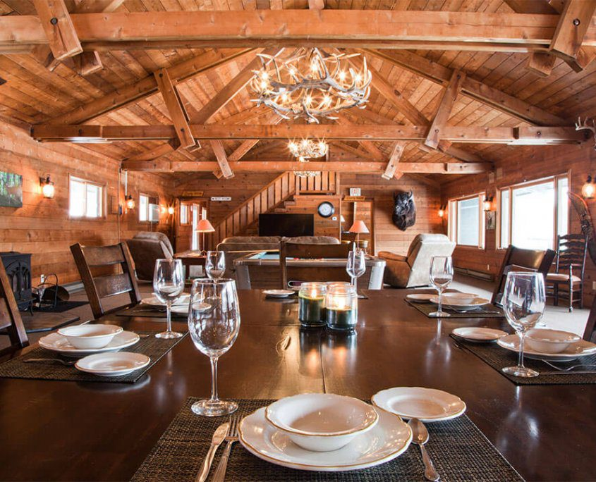 The Wilderness Reserve Rustic Lodge Rental