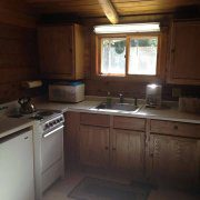 Wolf Cabin Kitchen